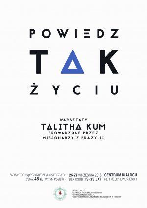 Warsztaty Talitha Kum